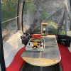 breakfast in a skilift