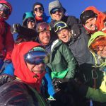 Summit selfie on mont Blanc