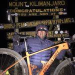 Mountainbike Kilimanjaro