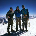 Mont Blanc summit June 20, 2017