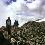 Mont Blanc rock training