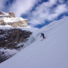 powder skiing Engelberg