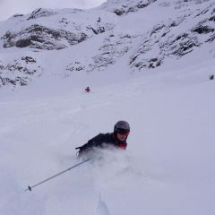 backcountry skiing Engelberg