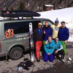 ski safari mont Blanc