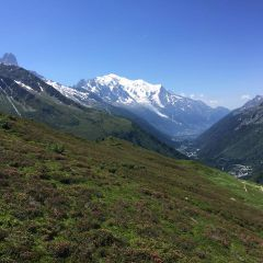 Chamonix and the Mont Blanc