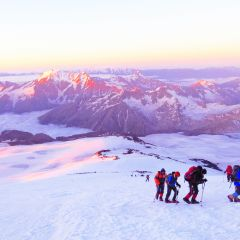 Expeditie Elbrus Elbroes