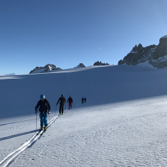glacier skitouring