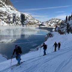 skitouring Emosson