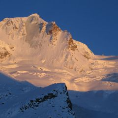 Gran Paradiso in winter