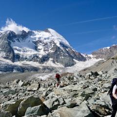 TieTiefmatter gletsjer