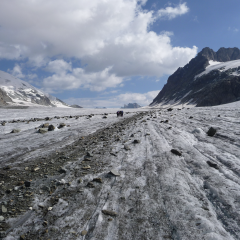 Otemma gletsjer - summer haute route