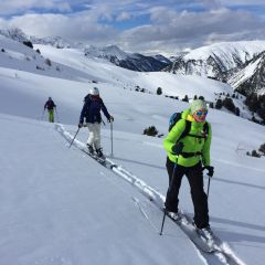 Toerski tocht Graubünden Zwitserland
