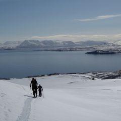 skitouring Iceland