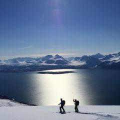 Skitoeren Lyngen Alps Noorwegen