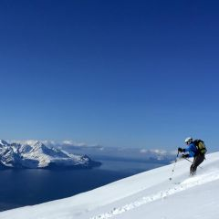skitouring Lyngen Alps Norway
