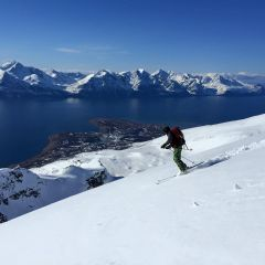 mountainguide Lyngen Alps