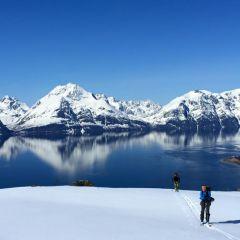 Toerskiën Lyngen Alps Noorwegen