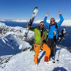 Tourskiën Lyngen Alps Noorwegen