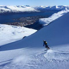 Skitouren Lyngen Alps Noorwegen