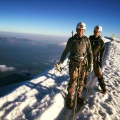 Mont Blanc summit