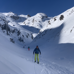 Andermatt backcountry skiing