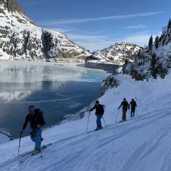 ski de rando Emosson