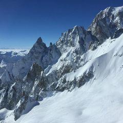 Toula glacier Courmayeur