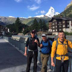Aankomst in Zermatt