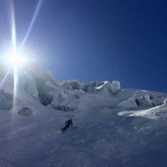 Vallée Blanche skiing