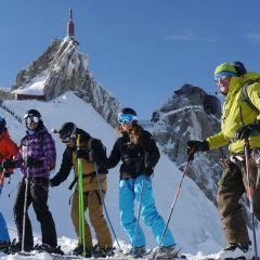 Aiguille du Midi ski