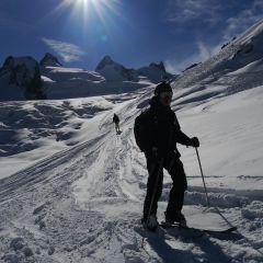 Vallée Blanche ski