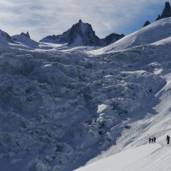 Vallée Blanche with skiguide