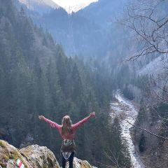 Les Gorges mystérieuses, Finhaut-Trient